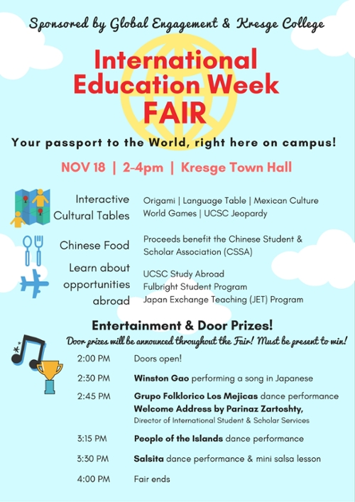 flyer for IEW Fair