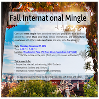 mingle flyer
