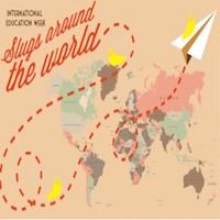 slugs around the world logo