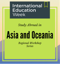 Study Abroad Regional Workshop Asia and Oceania
